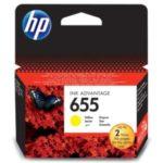 Žlutá HP 655 - HP CZ112A