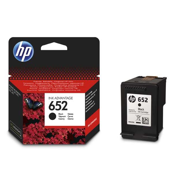 Cartridge HP 652 černá