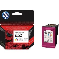 Cartridge HP 652 barevná